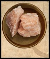 Pink Rose Culinary Rock Salt